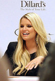 Jessica Simpson wore all black to an event in New Orleans.