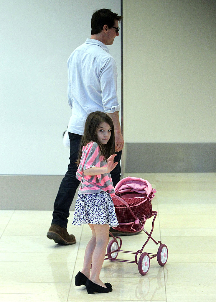 Tom Cruise and Suri Cruise shared some father-daughter time in Pittsburg.