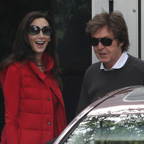 Paul McCartney and Nancy Shevell Honeymoon Departure Picture