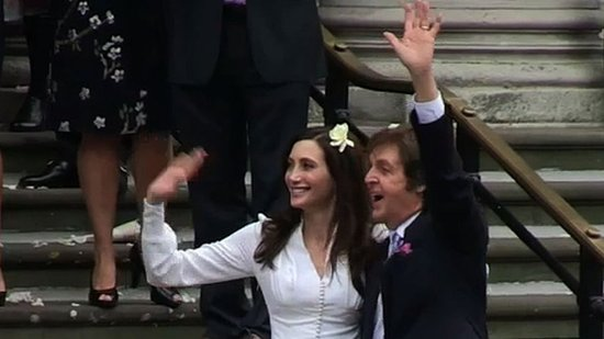 Video: Paul McCartney and Nancy Shevell Are Married — Get All the Wedding Details!