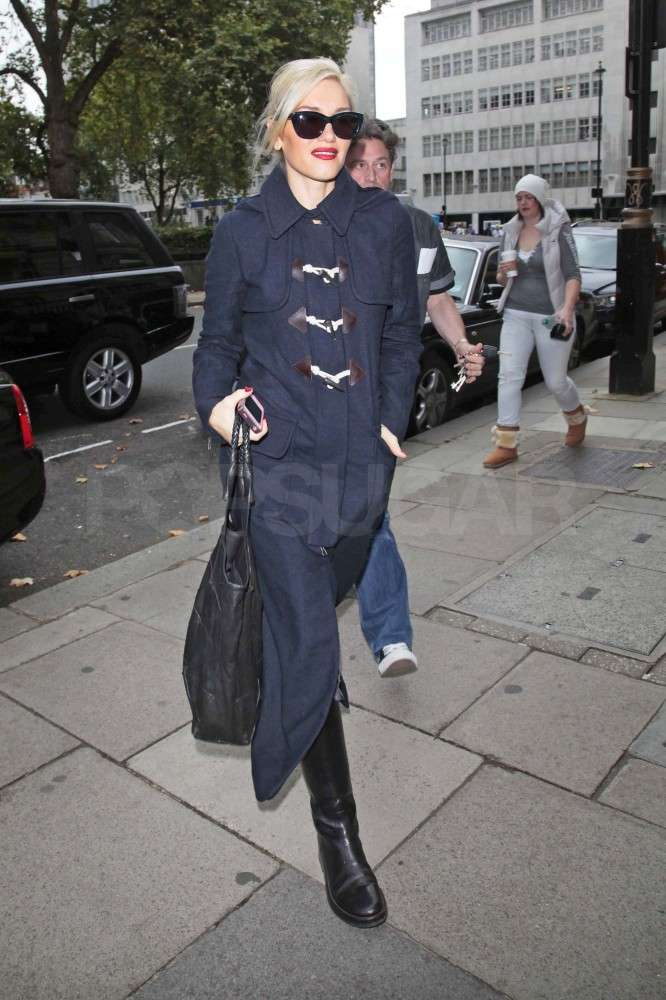Gwen Stefani hit the streets.