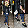 Gwyneth Paltrow at Heathrow Airport October 10, 2011