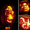 Jack-o'-Lanterns With Cartoon Characters