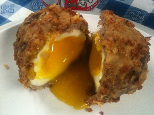 Would you try a deep-fried egg?