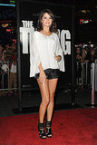 Selena Gomez posed at the premiere of The Thing in LA.
