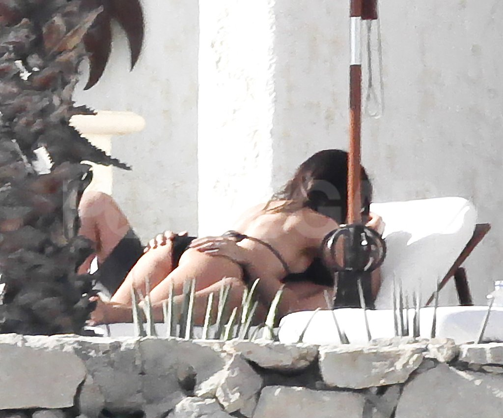 Kate Beckinsale and Len Wiseman showed some serious PDA in Mexico.