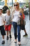 Reese Witherspoon and Deacon Phillippe ran errands together after school.