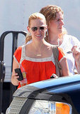 January Jones out in LA.
