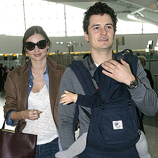 Orlando Bloom and Miranda Kerr Pictures With Baby Son Flynn