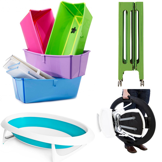 Know When to Fold 'Em: 7 Collapsible Baby Items For Space-Starved Families