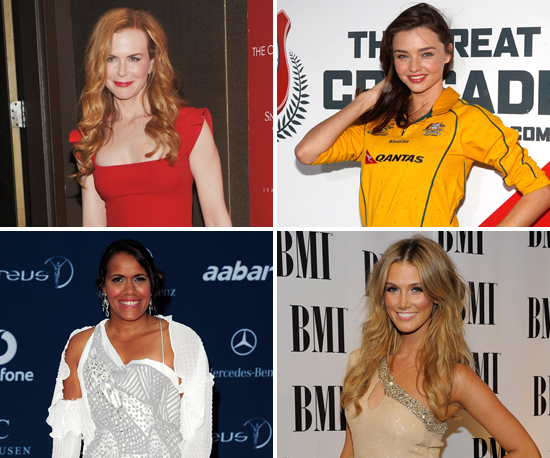 Top 10 of the Top 100 Most Admired Women in Australia 2011