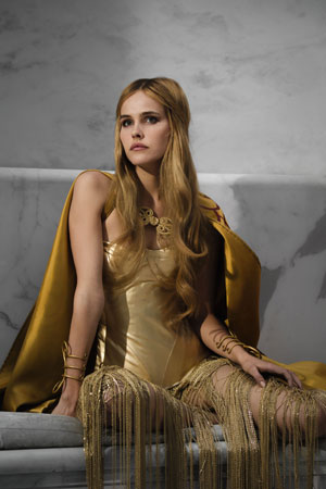Isabel Lucas as Athena in Immortals. Photo courtesy of Relativity