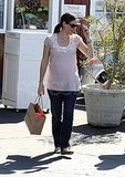 Pregnant Jennifer Garner out in LA.