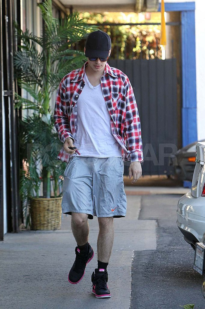 Hayden Christensen out in LA.