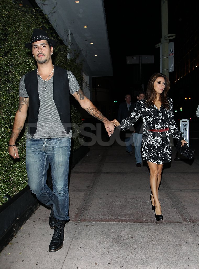 Eva Longoria and Eduardo Cruz had dinner together in LA.