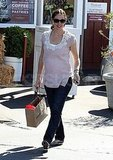 Jennifer Garner shops in LA.