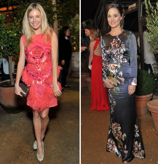 Sienna Miller and Pippa Middleton Get Glamorous For Charity