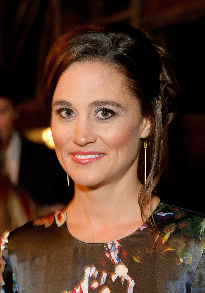 Pippa Middleton at an All Saints dinner in London.