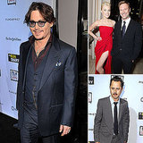 Johnny Depp Makes a Dapper Appearance at His Rum Diary Premiere