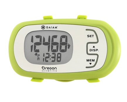 Oregon Scientific Gaiam Calorie Coach Pedometer ($40)