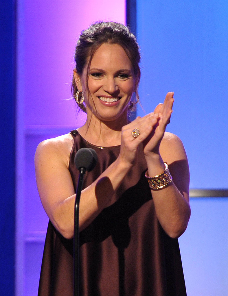 Susan Downey saluted her husband.