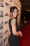Emanuelle Chriqui wore a sexy dress.