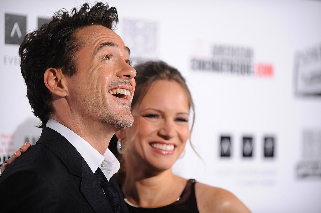Robert Downey Jr. was joined by his wife Susan.