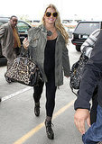 Jessica Simpson at LAX.