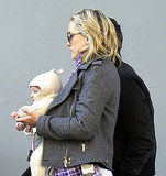 Kate Hudson and Matthew Bellamy out with Bingham in London.