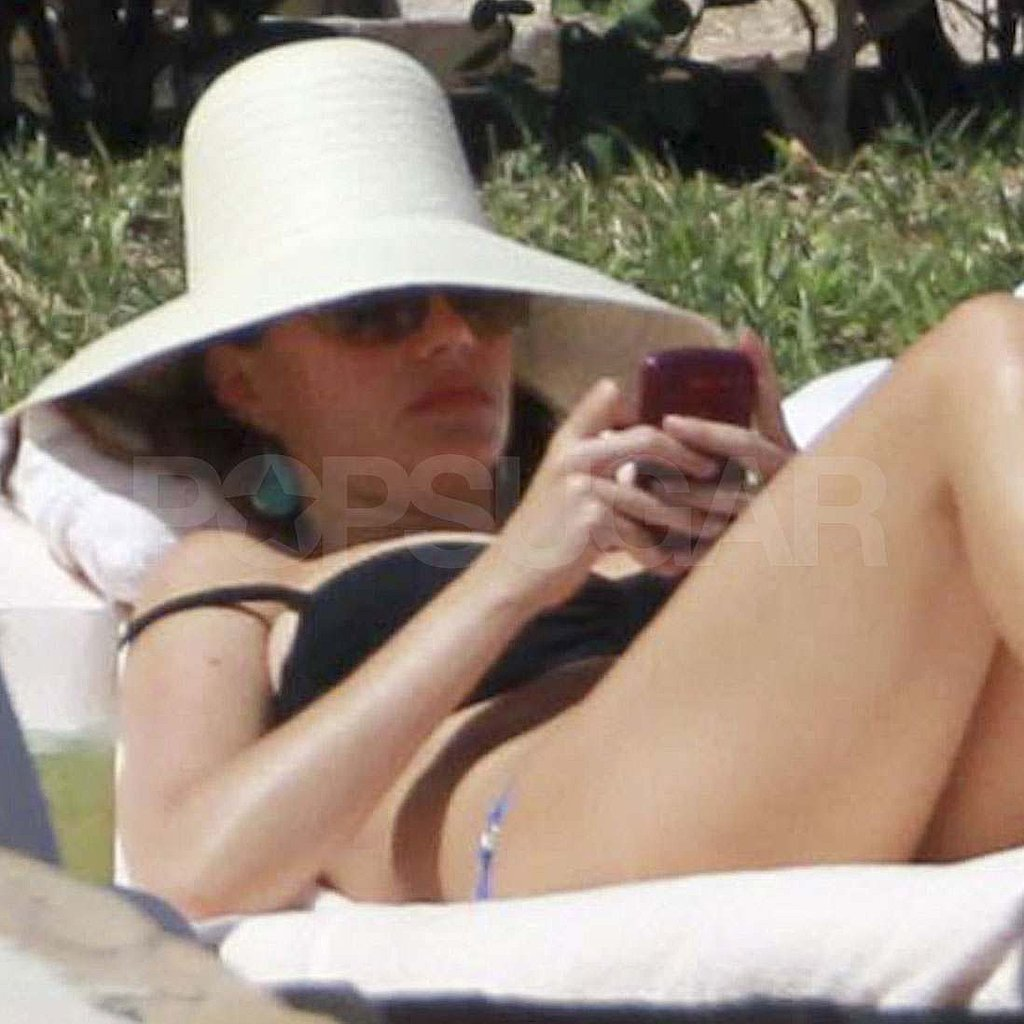 Sofia Vergara in a bikini in Mexico.