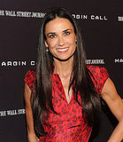 Demi Moore came out for the Margin Call premiere in NYC.