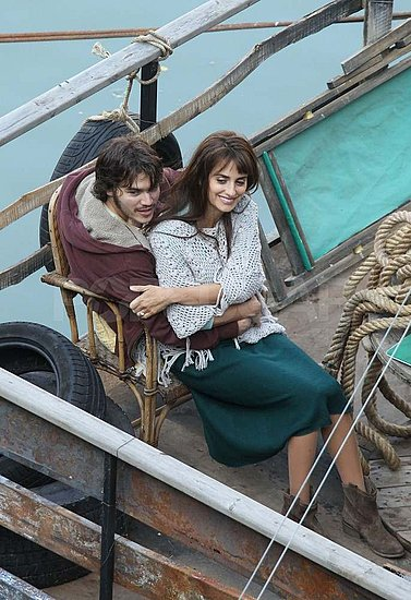 Penelope Cruz Cuddles Close With Emile Hirsch For the Cameras