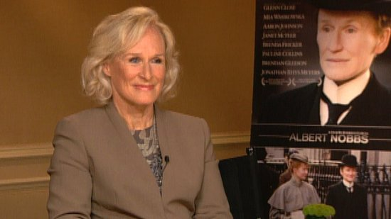 "Glenn Close Says She ""Looked at Charlie Chaplin"" to Pose as a Man in Albert Nobbs"