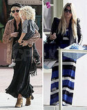Jessica Simpson Steps Out in Stripes For Lunch With Ashlee and Tina