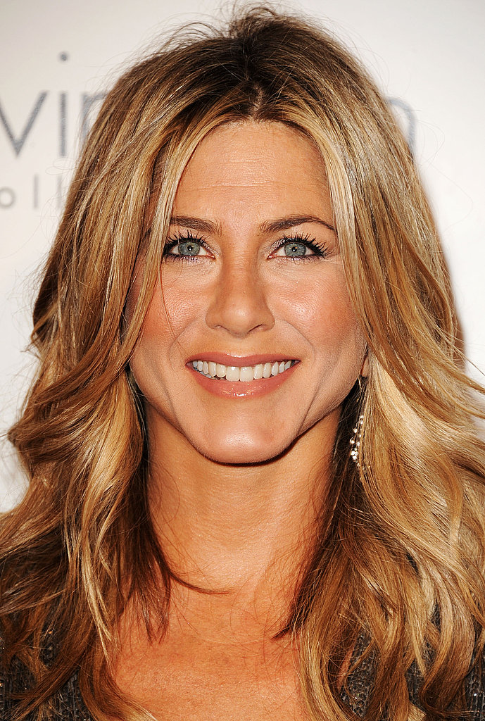 Jennifer Aniston looked beautiful for Elle in LA.