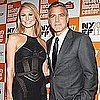 George Clooney and Stacy Keibler at The Descendants Premiere Video