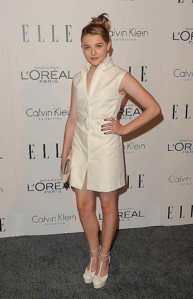 Chloe Moretz helped Elle honor women in Hollywood.