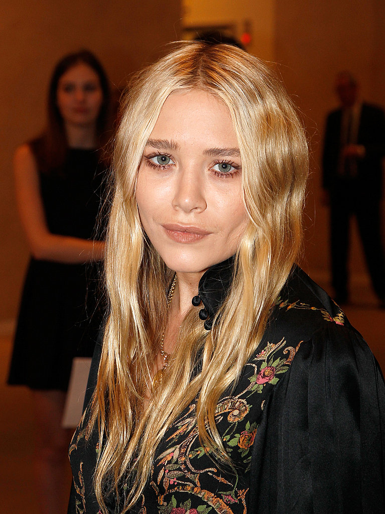 Mary-Kate Olsen almost cracked a smile at the New York Academy of Art's 20th annual Take Home a Nude benefit.