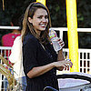 Jessica Alba With Honor and Haven at Pumpkin Patch Pictures