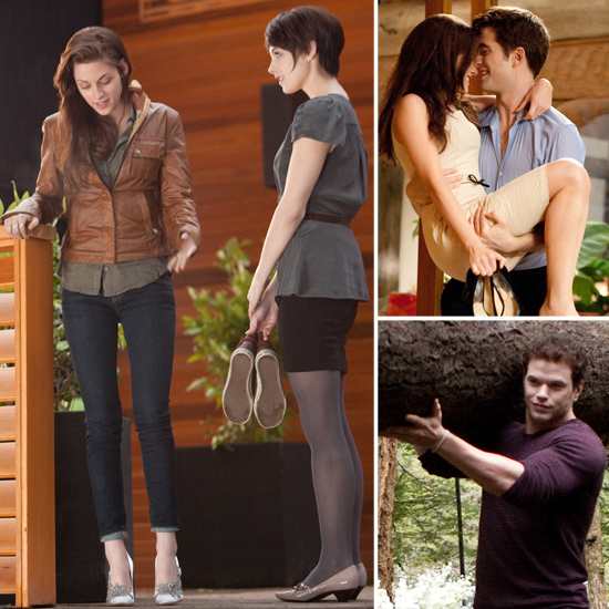 Kristen Stewart Wears High Heels as Bella in New Breaking Dawn Photos!