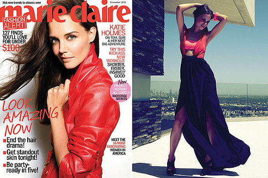 Katie Holmes Shows Skin and Talks Suri in a Sexy Marie Claire Spread