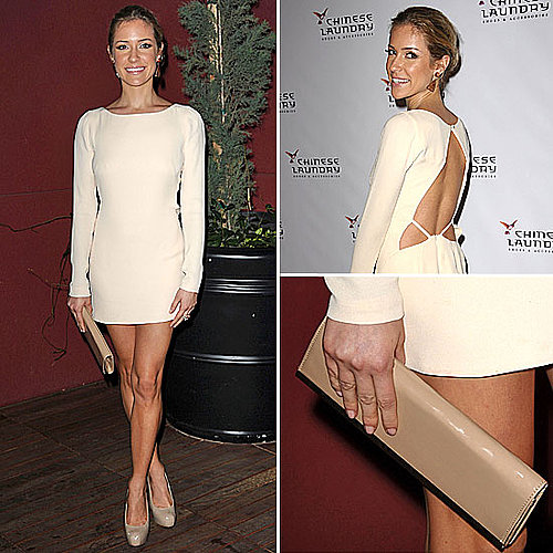 Celeb Style: Kristin Cavallari&#039;s White Hot Minidress 
