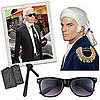 Karl Lagerfeld Halloween Costume