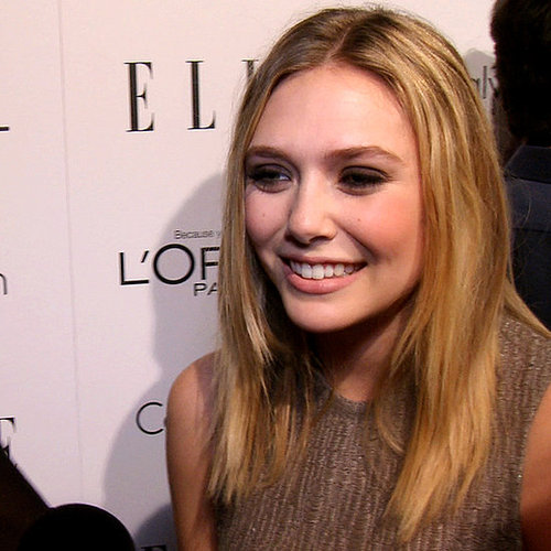 Elizabeth Olsen Talks Red Carpet Style Tips from the Olsen Twins, Donna Karan's lust item and Glee's Jayma Mays!