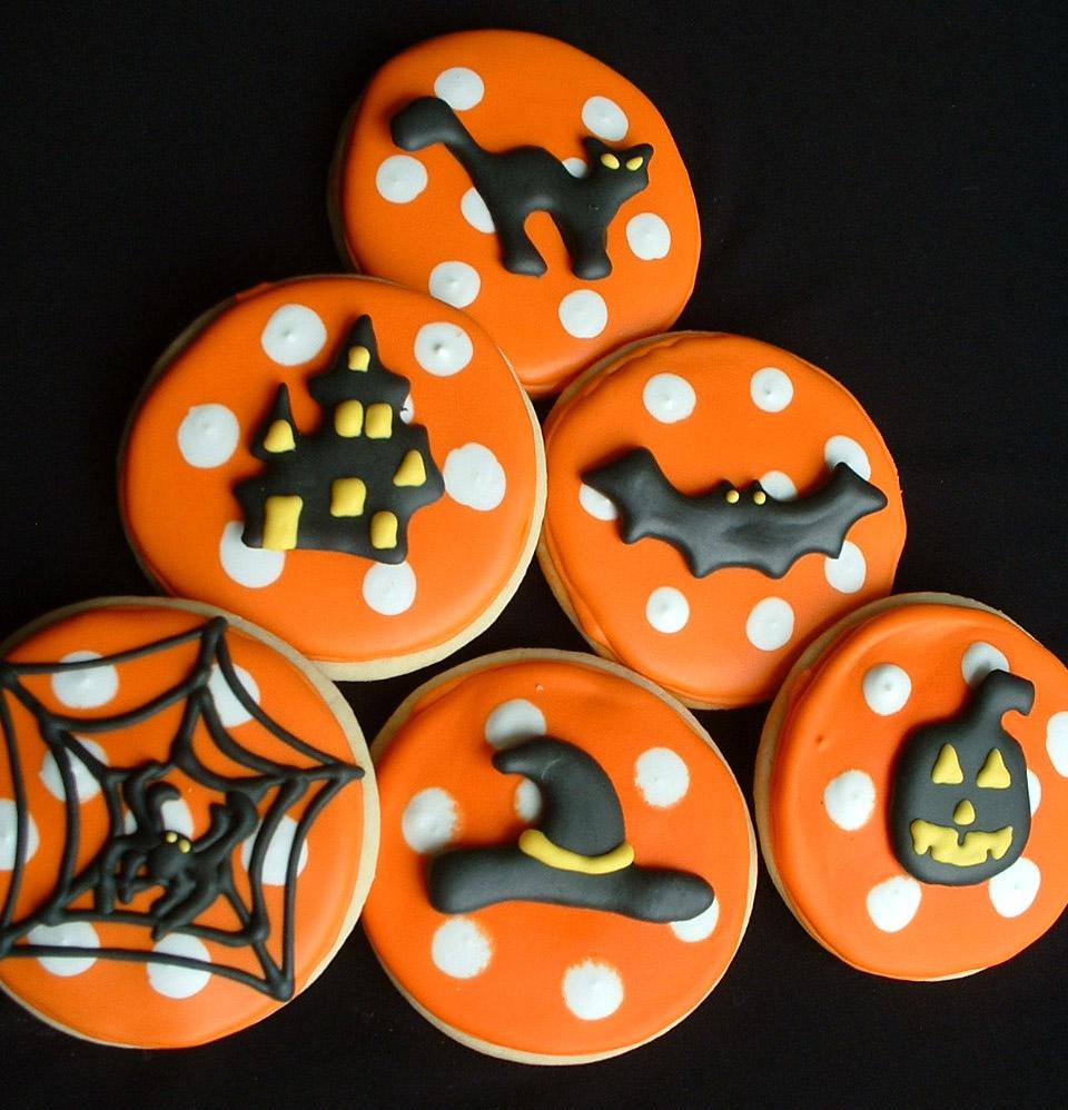 Halloween Cookie Favors