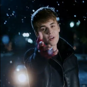 "Justin Bieber ""Mistletoe"" Music Video"