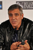 George Clooney talked about The Ides of March in London.