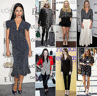 Pictures of Celebrities wearing Polkadots: See How Kirsten Dunst, Emma Stone, Coco Rocha and more Work the Trend!
