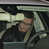 Justin Timberlake out to dinner in LA.