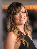 Olivia Wilde smiled at the premiere of In Time.
